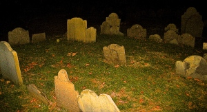 It's more likely to find a ghost in a spooky graveyard than in a Los Angeles apartment.