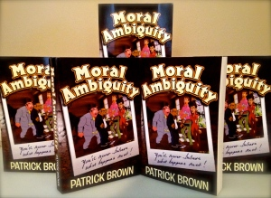 """Moral Ambiguity"" is still a fun read even though it can be found on the occasional shelf at a used bookstore."